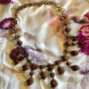 Ruby Red Bubble Necklace